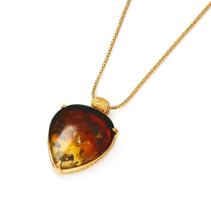 Ombré Cherry Gold – Wisiorek