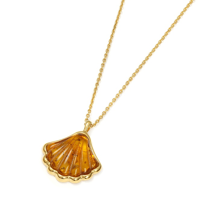 OysterShell Gold – Naszyjnik