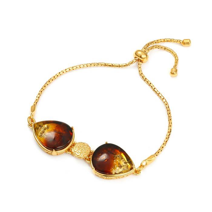 Ombré Cherry Gold – Bransoletka