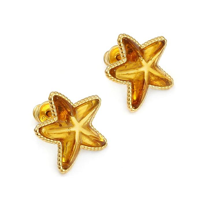 SeaStar Gold – Kolczyki