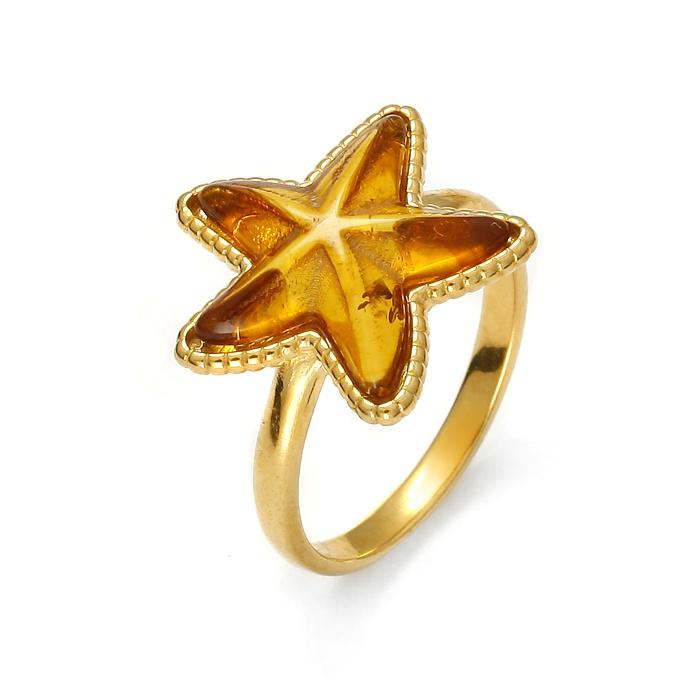 SeaStar Gold – Pierścionek